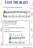 Blues Improvisation Worksheet