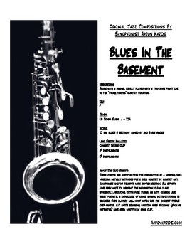 Blues In The Basement- Music For Jazz Combo