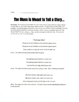 Blues Song Analysis and Writing