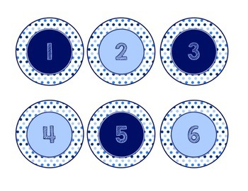Blues & White/Space Decor: What Stuck With You Today? Exit Ticket Poster Kit