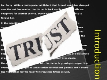 "Bluford Series Book #2- ""A Matter of Trust."" Power Point Presentation"