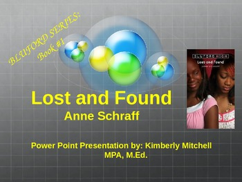 "Bluford Series ""Lost and Found"" PowerPoint Presentation"