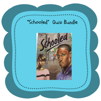"Bluford Series ""Schooled"" Quiz Bundle"