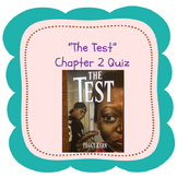 """Bluford Series """"The Test"""" Chapter 2 Quiz"""