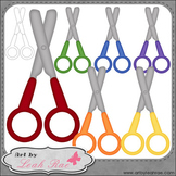 Blunt Tip Scissors 1 - Art by Leah Rae Clip Art and Line A