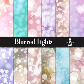Blurry Bokeh Backgrounds, Pastel Lights, Bokeh Patterns, Blurry Backdrop