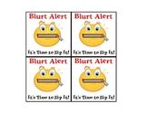 Blurt Alert: Classroom Management
