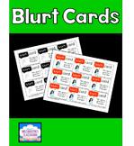 Blurt Cards!