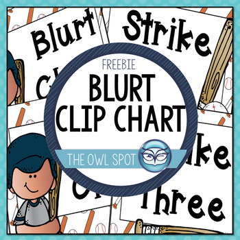 Blurt Clip Chart - FREE!