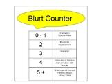 Blurt Counter