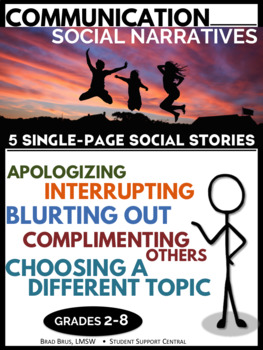 Communication Social StoryPack - Blurting Out and more