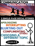Communication Social Story Pack - Blurting Out and more
