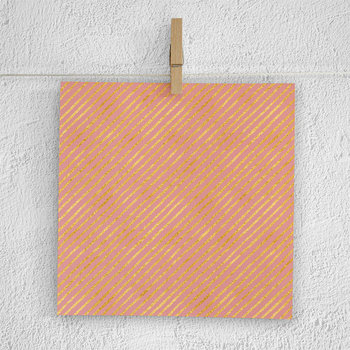 Blush Pink With Gold And White Hand Drawn Patterns