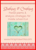Blushing and Crushing: Valentine's Poetry Analysis Bundle