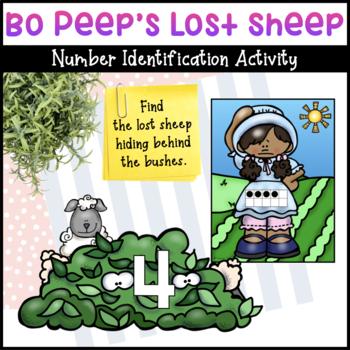 Bo Peep's Lost Sheep Math Activity