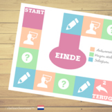 Dutch Board Game⎜Ask questions, answer and write ⎜Printabl