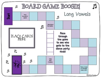 Board Game Boogie: Long Vowels