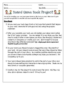 Board Game Book Project