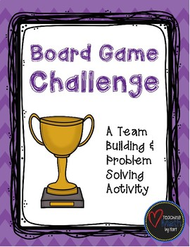 Board Game Challenge - A Team Building Activity