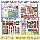 Board Game Clip Art Bundle