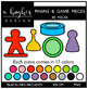 Board Game Clipart Bundle