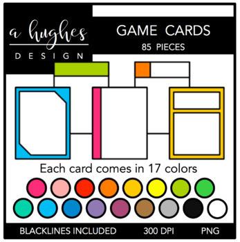 Board Game Clipart Bundle {A Hughes Design}