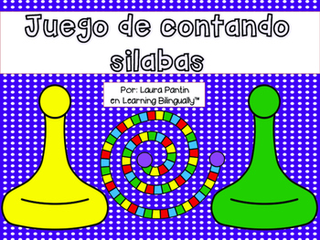 Board Game Counting Syllables in Spanish