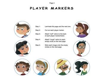 Board Game: Descriptions, Compare & Contrast Skills & More (Spanish Version)