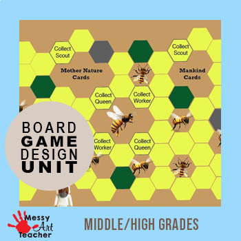 Board Game Design Unit Lessons For Graphic Design By Messyartteacher