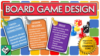 Board Game Design: Middle School Art Project with Common Core Connections