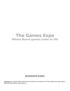 Board Game Expo!