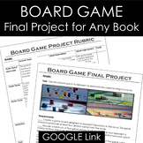 Board Game Final Project for ANY Book in PDF & Digital