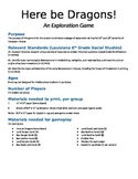 Board Game--Here be Dragons! (Age of Exploration)