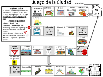 Board Game - La ciudad