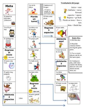 Board Game - Las actividades