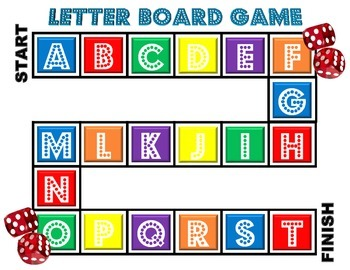 Board Game Letters