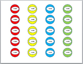 Board Game Markers/Tokens. (personable)