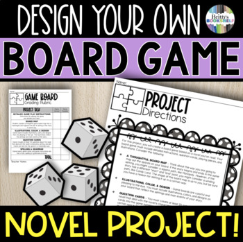 Board Game Novel Project