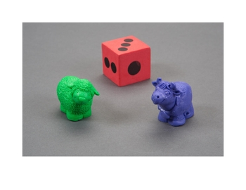 Board Game Pieces - Lil' Reading Scientists TM (Hard Goods)
