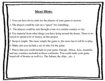 Board Game Project