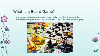Board Game Project Powerpoint