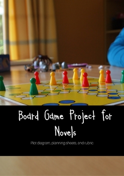 Board Game Project for Novels
