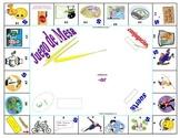 Board Game :  Spanish Present & Preterite -ar Verbs