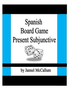 Board Game - Spanish Present Subjunctive