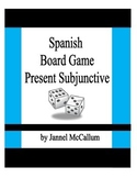 Board Game - Spanish Present Subjunctive