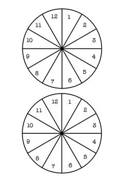 Board Game Spinners *FREEBIE*