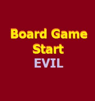 Board Game Start Evil