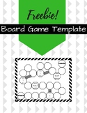 Board Game Template- FREE Printable