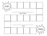 Board Game Template and Game Question Cards Template