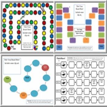 10 Board Game Templates - Create Customized Board Game using MS Word